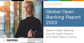 The Global Open Banking Report 2020 - beyond open banking, onto the open finance and open data economy The Paypers (registration required for download) [substantial report covering key topics and major players in the ecosystem]...